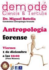 La antropología forense llega al bar enAlmería